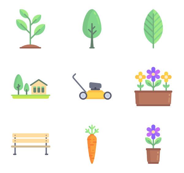 picture freeuse Name clipart gardening tool.  garden icon packs.