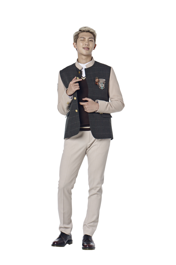 black and white library BTS For Smart School Uniform