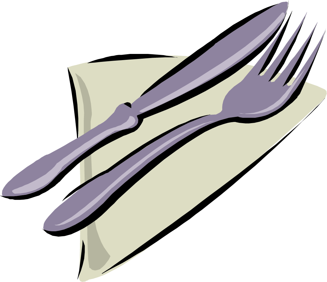 image transparent Napkin clipart. Cutlery table free on