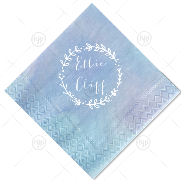 transparent stock Custom ocean cocktail napkins. Napkin clipart plate napkin.