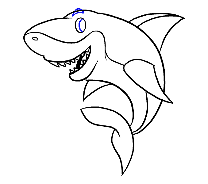 vector library download Narwhal Cartoon Drawing at GetDrawings