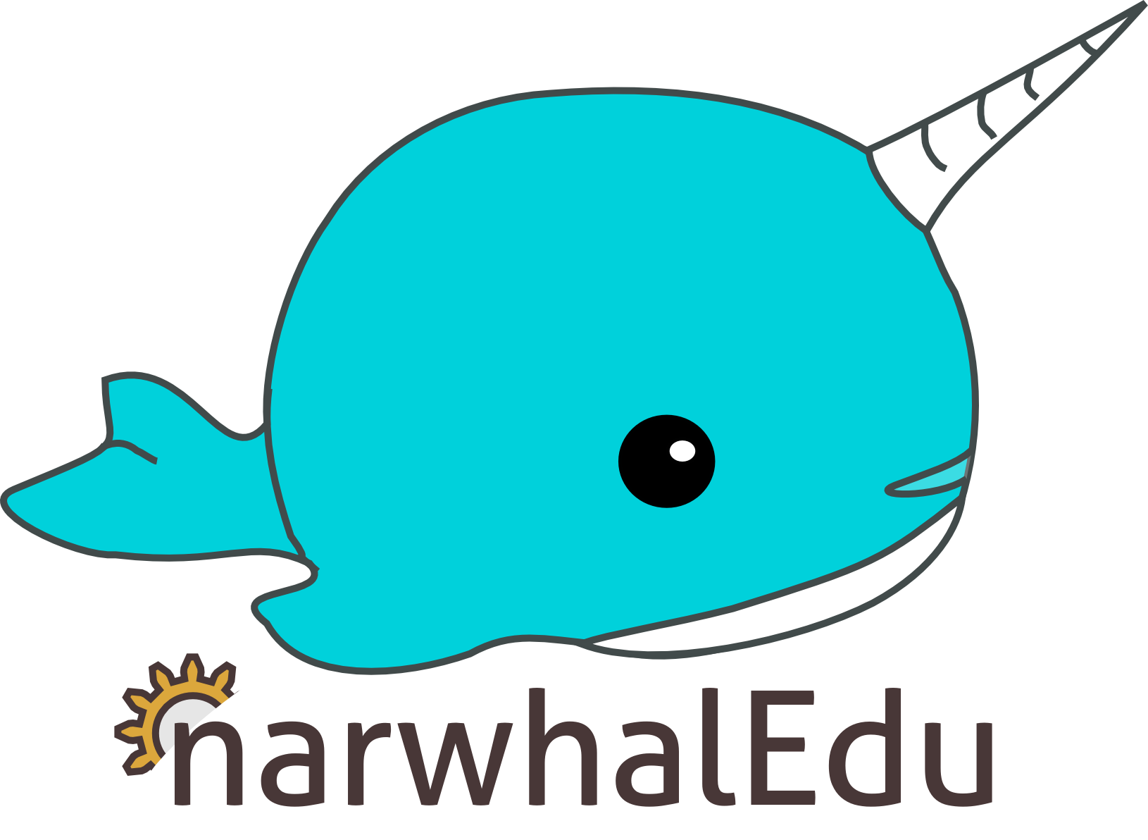 banner Drawn transparent pencil and. Narwhal clipart cartoon
