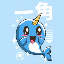 royalty free stock Narwhal clipart cute.  best images clip.