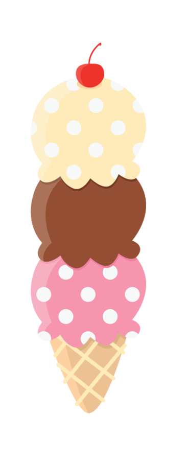 stock narwhal clipart ice cream #81412653