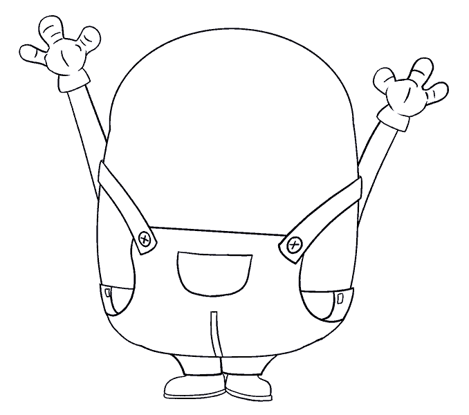 clip art free download Step By Step Drawing Minion at GetDrawings