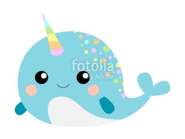 graphic black and white stock Free download clip art. Narwhal clipart swag.