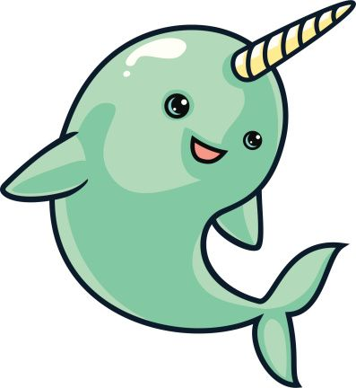 clipart download Google search party cakes. Narwhal clipart vector.