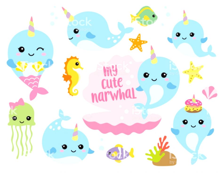 picture transparent Cute Baby Sea Animals Clipart