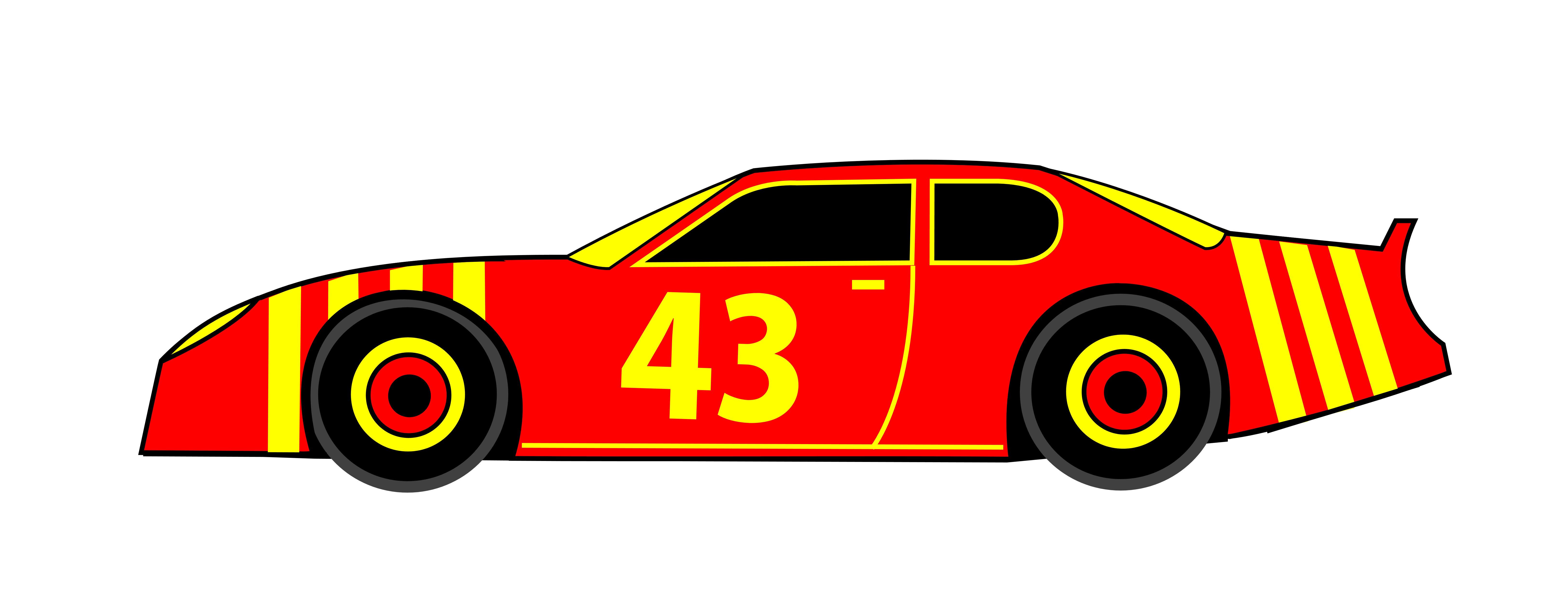 clip art download Free nascar cliparts download. Racecar clipart.