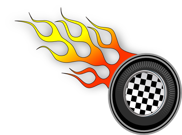 banner royalty free race track clip art
