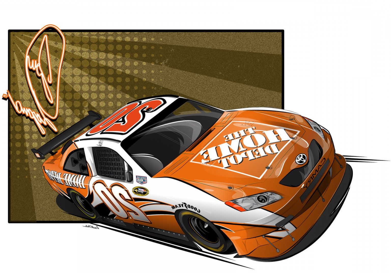 png download Free download clip art. Nascar clipart home depot.