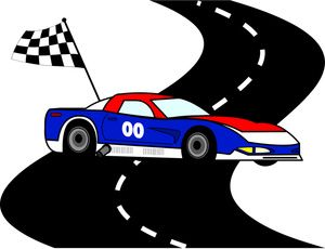banner freeuse download Nascar clipart race road. Free download clip art.
