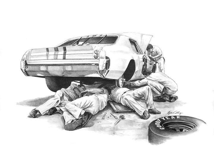 vector free download NASCAR Mechanics