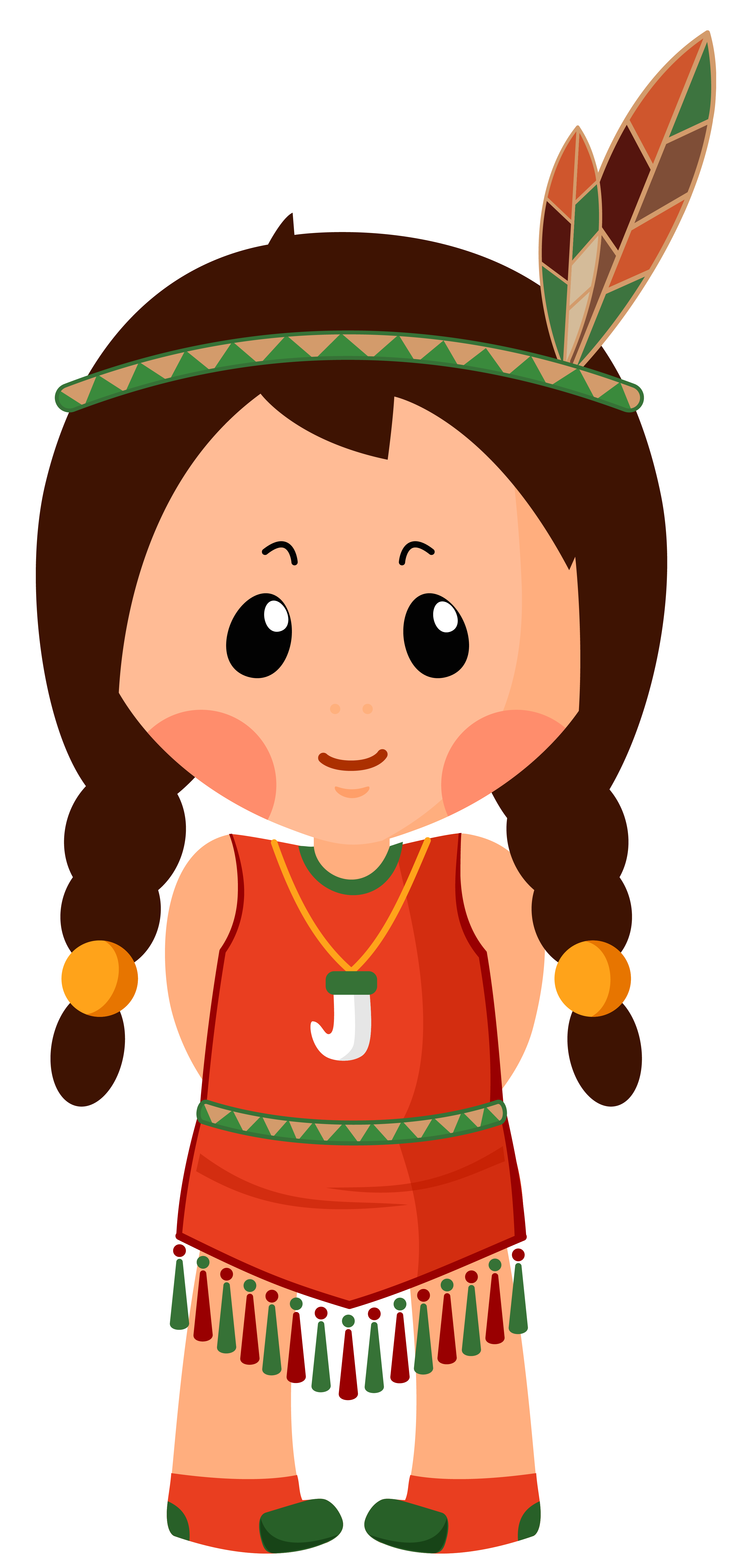 freeuse download Girl clipar png image. Native american clipart