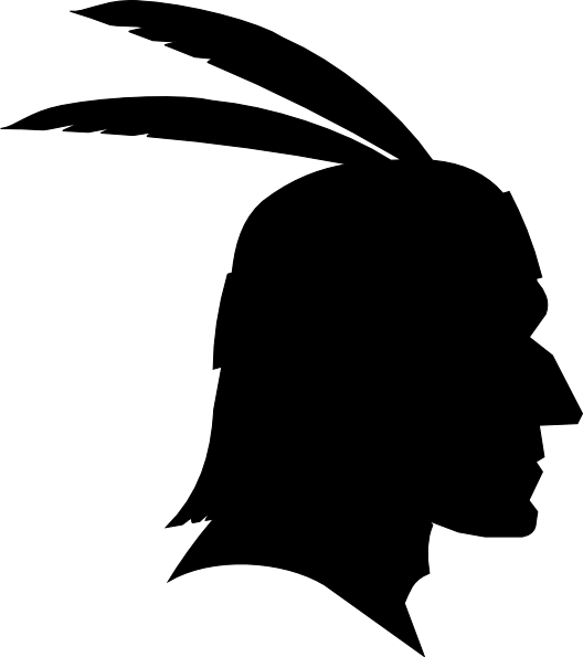 svg black and white Native american clipart american bison. Silhouette art at getdrawings.