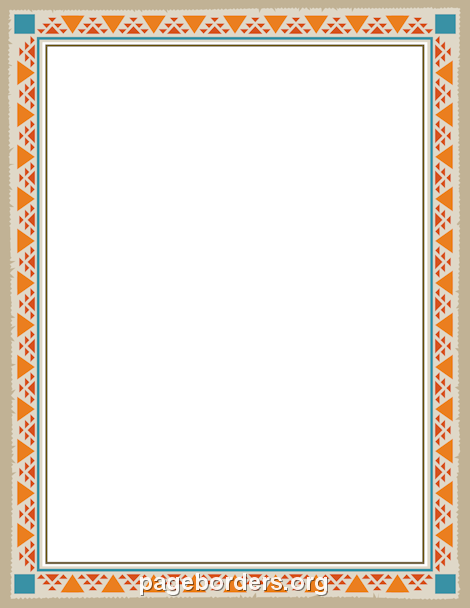 image free stock Native american clipart borders. Pin by muse printables