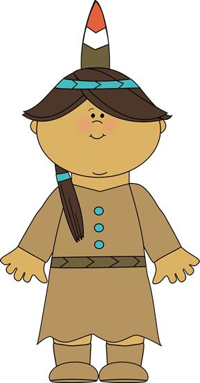 jpg royalty free Native American Indian Girl Clip Art