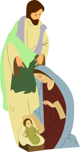 transparent stock Nativity clipart. Clip art at clker.