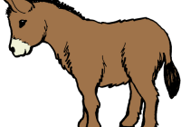 png library stock Clip art image clipartix. Nativity clipart donkey.