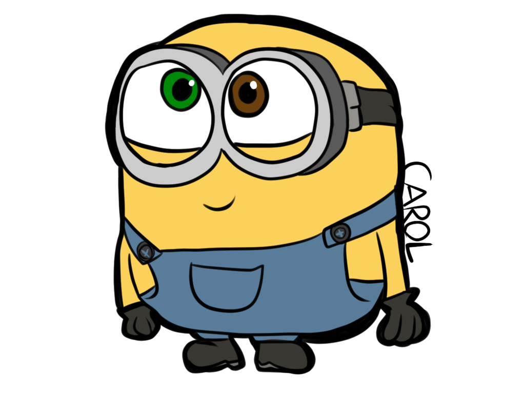vector library library Little bob by carol. Smurfs drawing minion