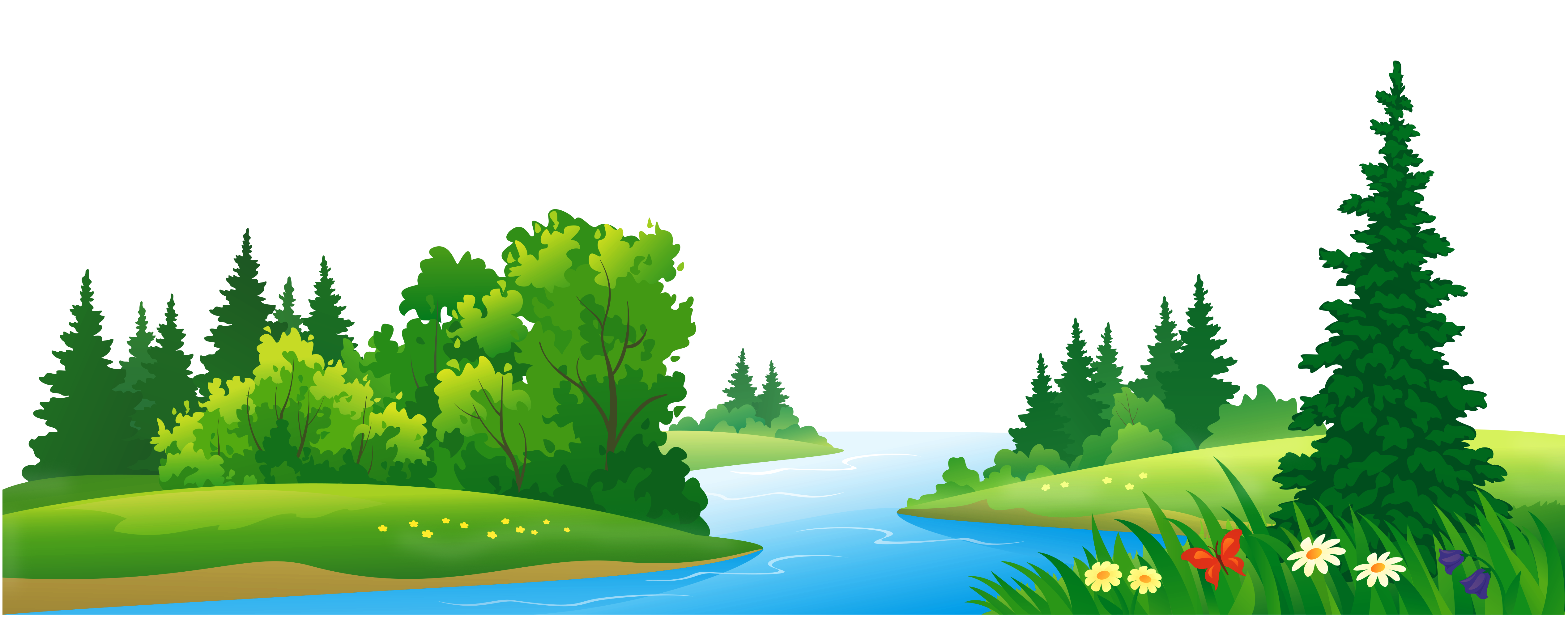 vector royalty free stock vector landscapes forest #108022961