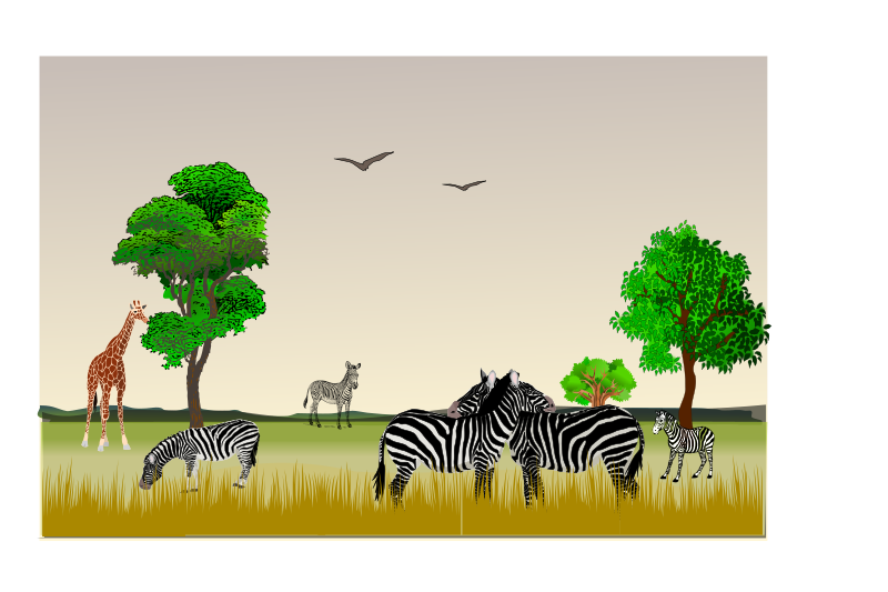 image download Nature clipart nature reserve. African game medium image.