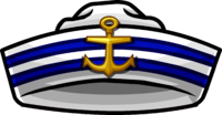 clip art transparent stock Nautical clipart captain hat. Icon hats cap sailor.