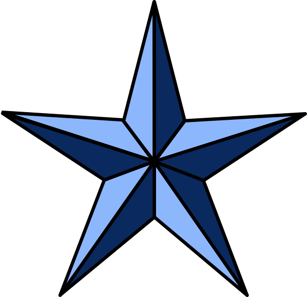 png library Wla nautical star clip. Western stars clipart