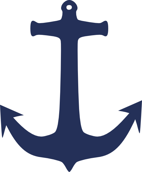 jpg freeuse Navy Blue Anchor Clipart