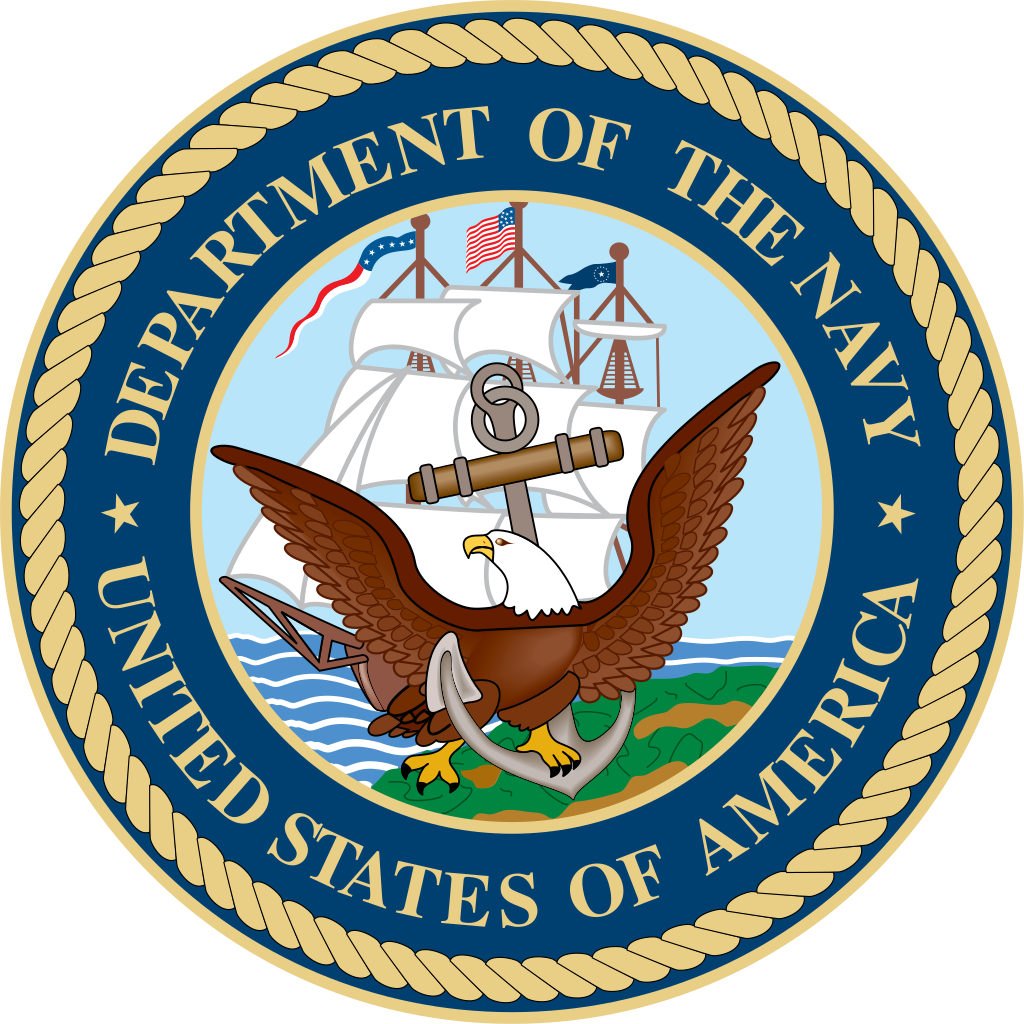 stock Navy clipart emblem. File seal of the.