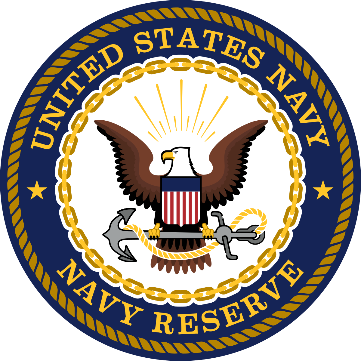 clip black and white stock Navy clipart emblem. United states reserve wikipedia.