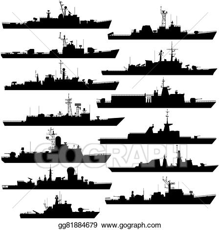 graphic freeuse Navy clipart frigate. Vector frigates and corvettes.