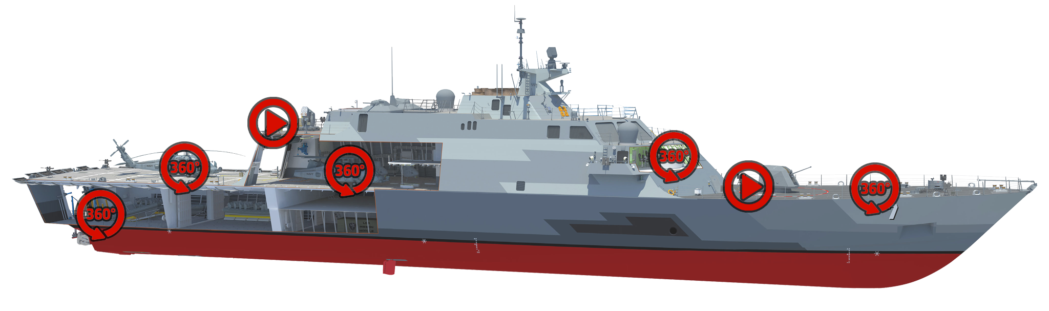 black and white stock Navy clipart frigate. Tour the uss detroit.