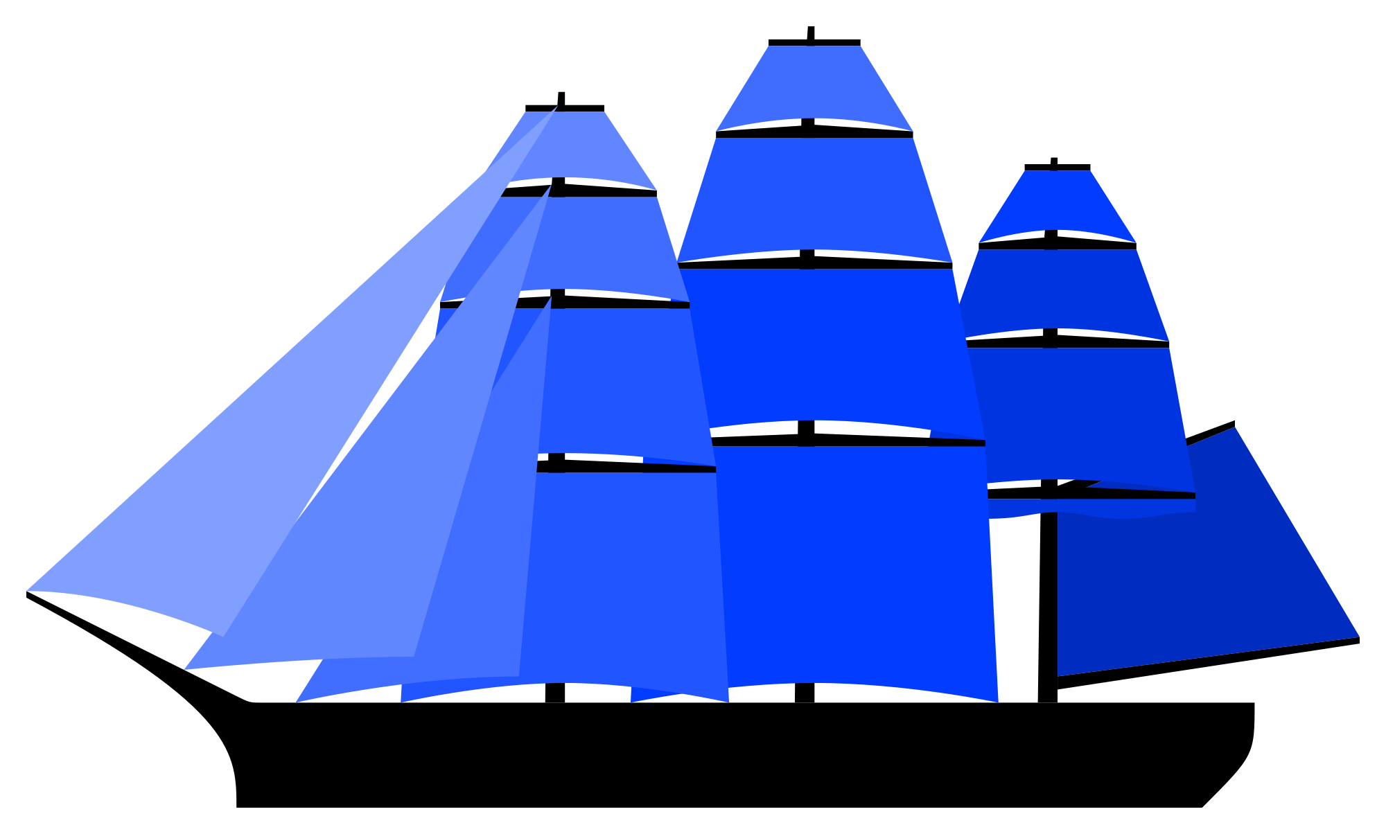 clipart freeuse Ships sail free on. Navy clipart frigate.