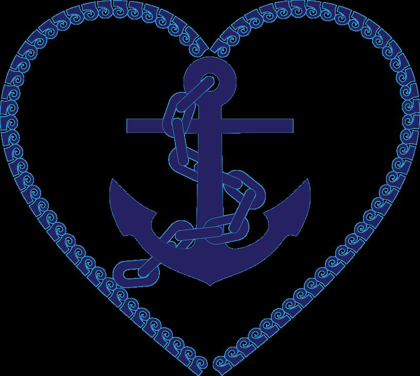 svg library stock Navy clipart nautical. Heart anchor jokingart com.