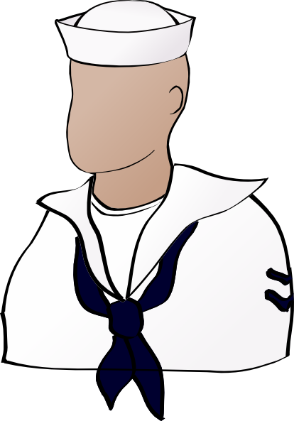 clip royalty free download Us Navy Sailor Clipart