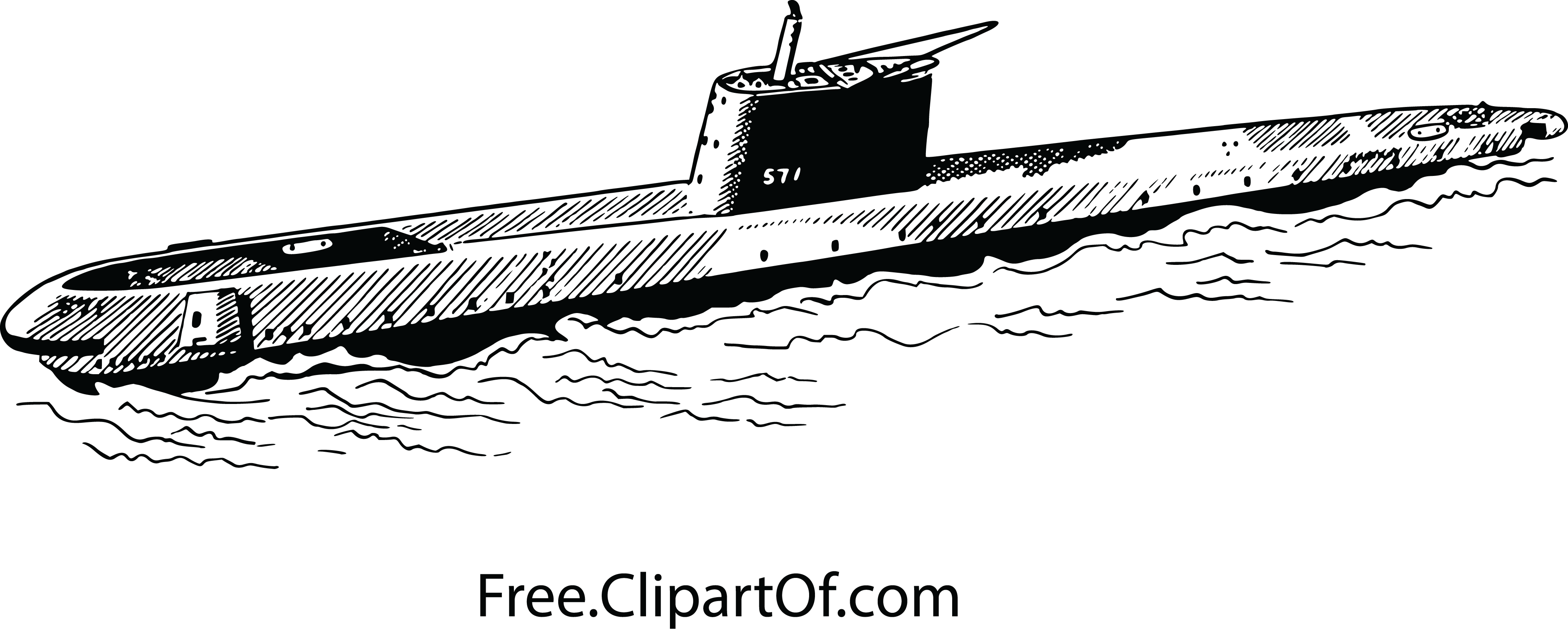 png transparent library Best HD Navy Submarine Clip Art Drawing