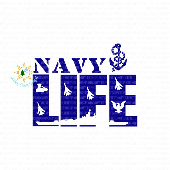 svg freeuse Navy svg clip art. Life us silhouette cricut