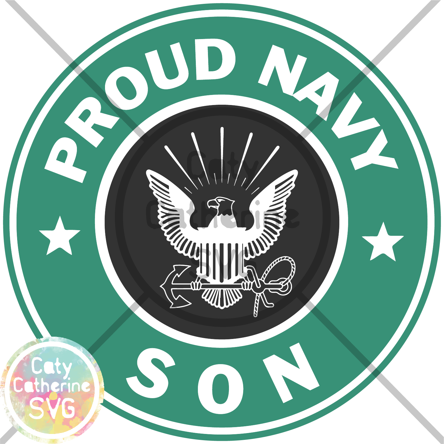 clip library library Proud Navy Son Military SVG Cut File