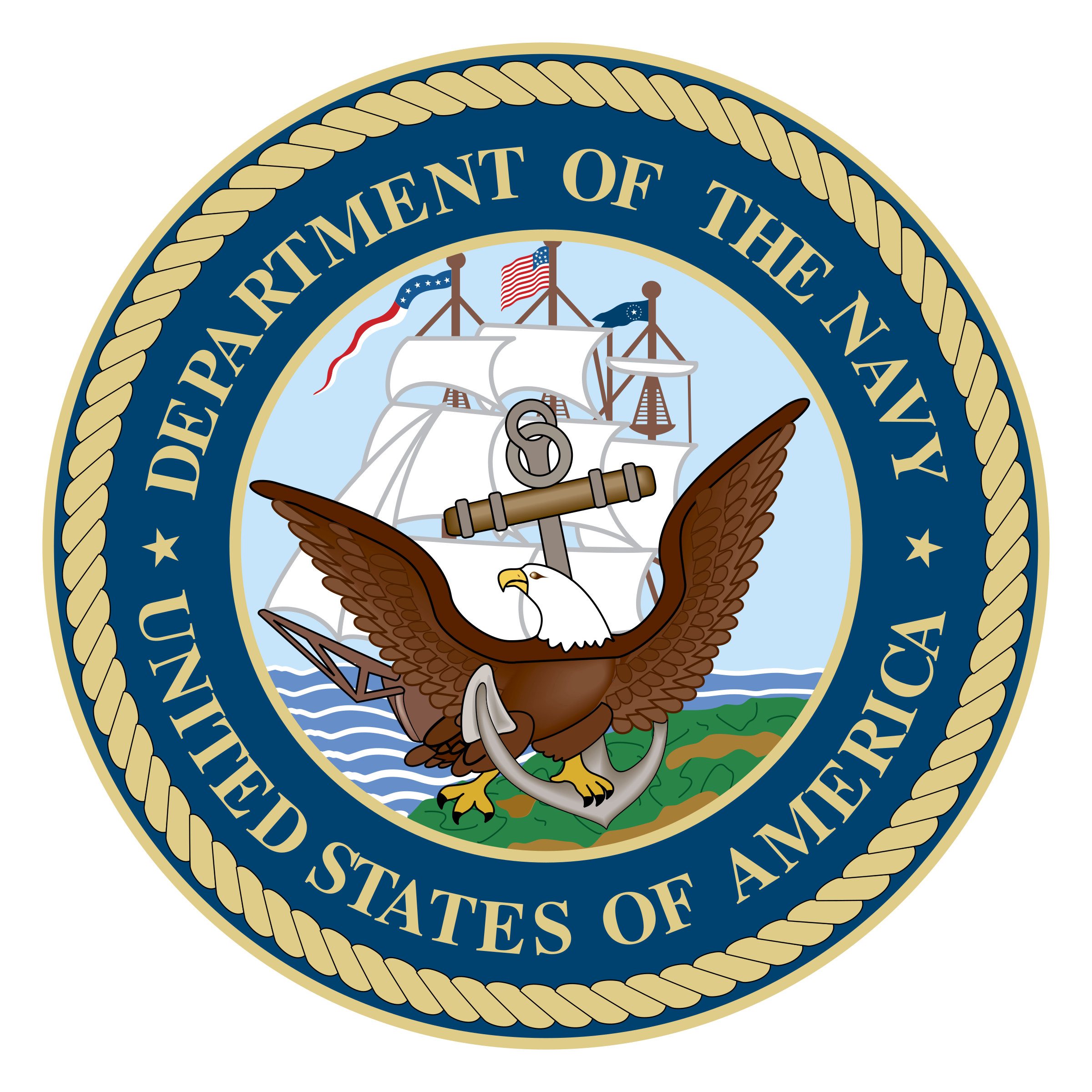 clip art freeuse Department of the Navy Logo PNG Transparent