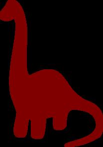 clip art black and white stock Neck clipart. Long necked dinosaur silhouette.