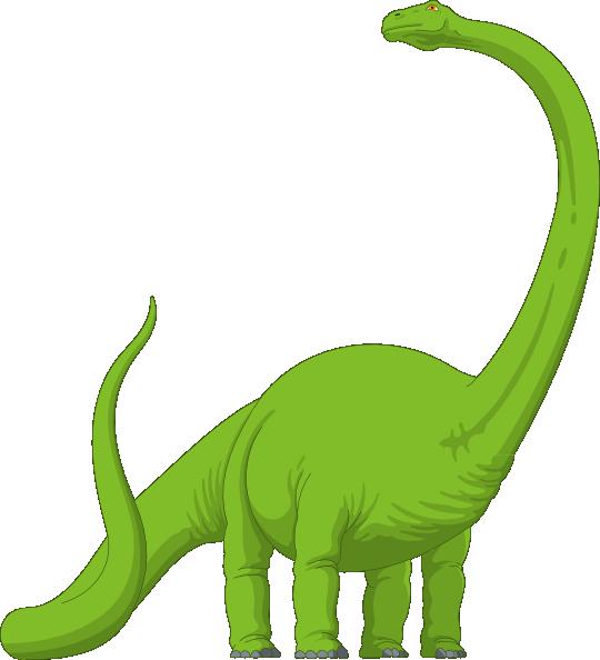 graphic black and white stock Long brachiosaurus dinosaur green. Neck clipart clip art.