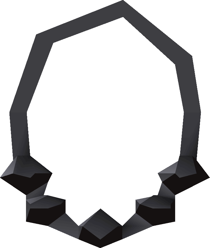 clip library download Necklace black and white clipart. Onyx old school runescape