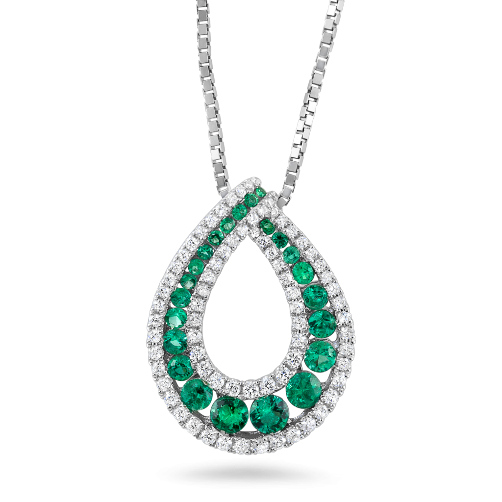 jpg free library  k wg diamond. Necklace clipart green.