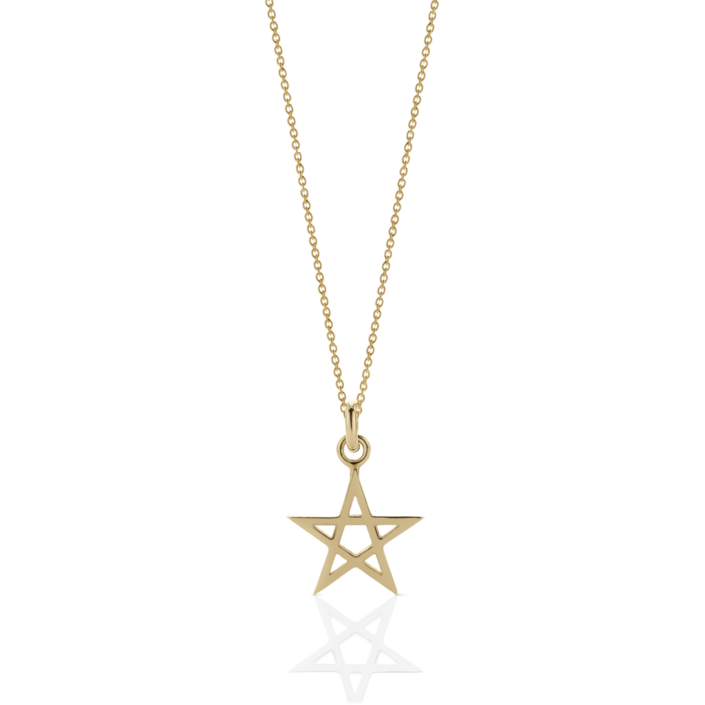 graphic freeuse stock Pentagram Charm Necklace