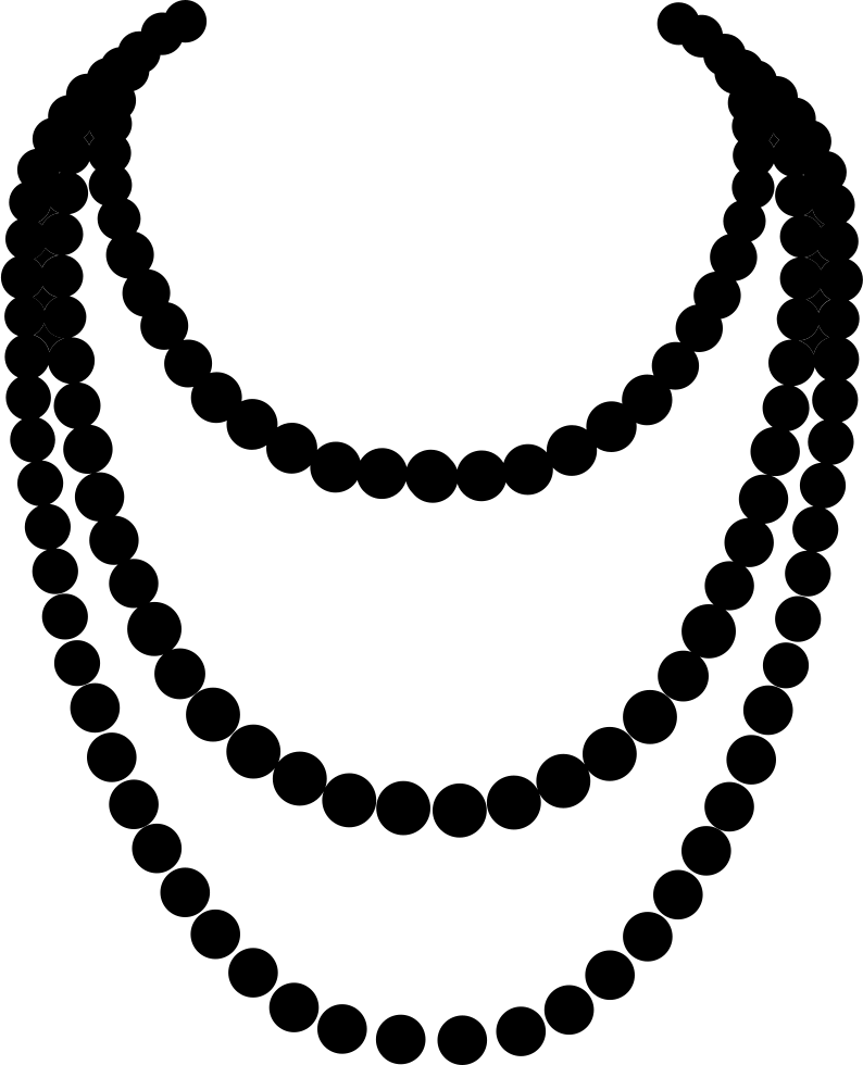 svg library download Necklace art png