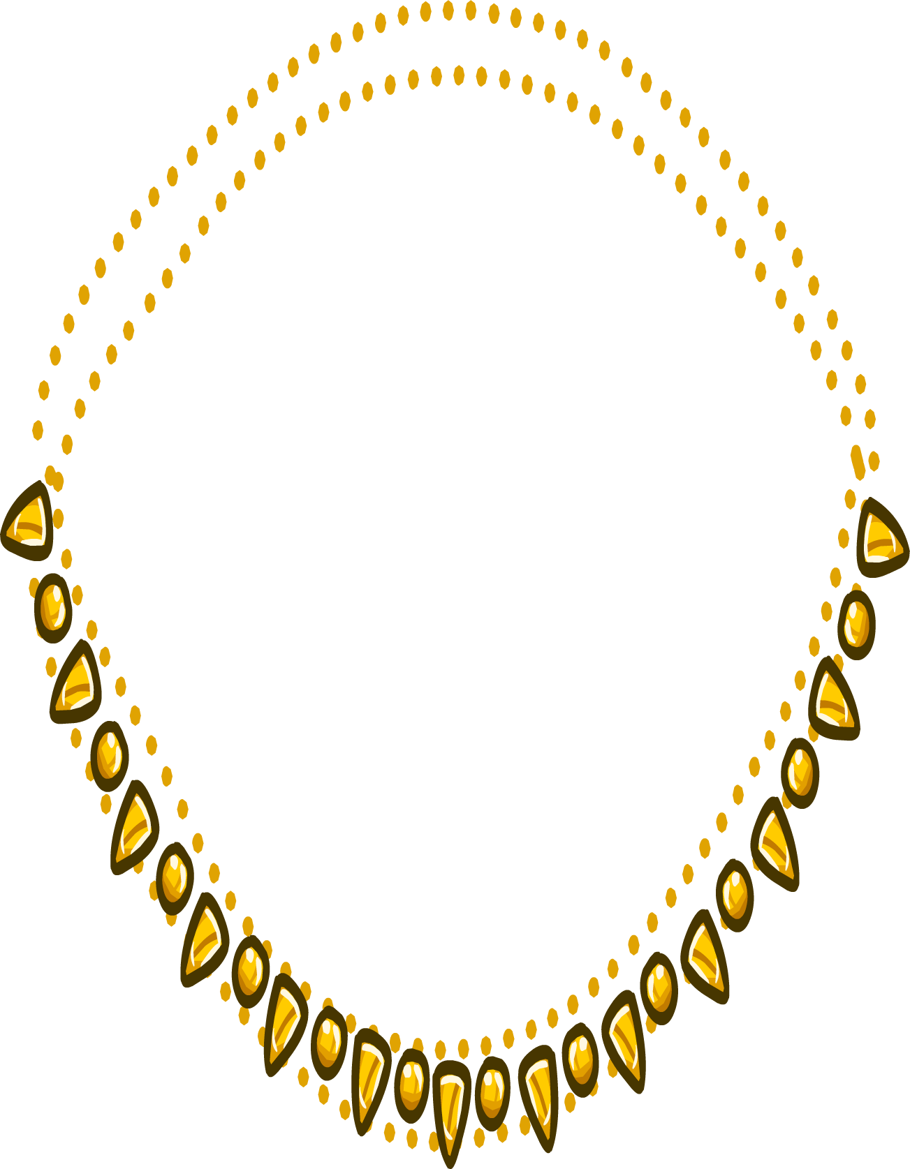 clip art freeuse necklace vector chain #100230634