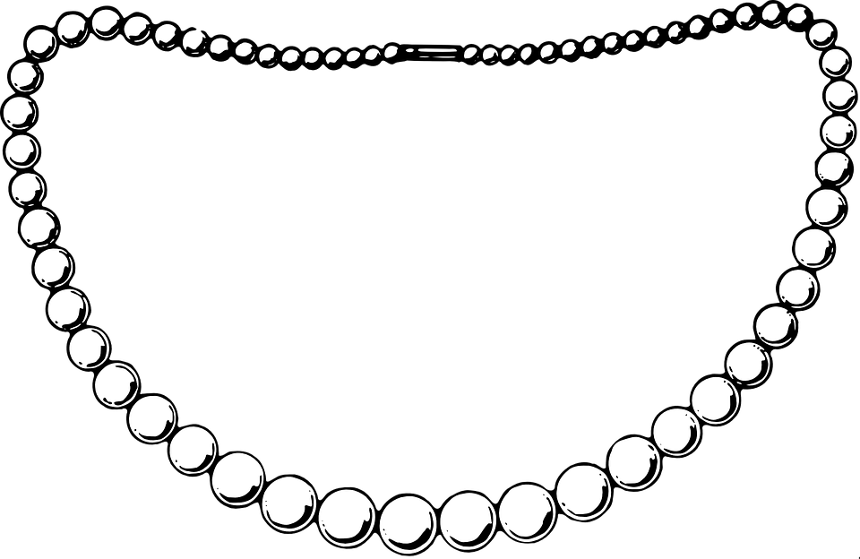 vector library Pearl Necklace Images