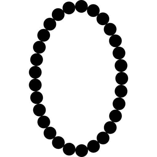 image black and white download necklace vector svg #100233777