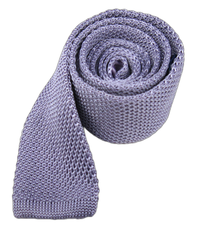 png royalty free stock Lilac Knitted Tie